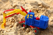 Bagger im sand von buellom
