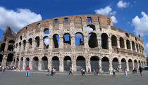 Colosseum, Rome, Italy by Linda More