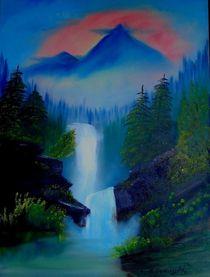 Wasserfälle von Eva Borowski
