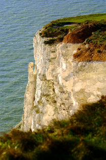 Bright White Cliffs by serenityphotography