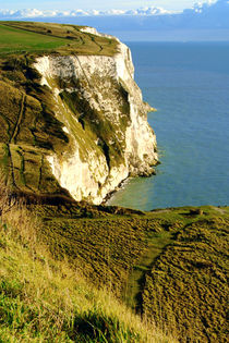 Chalky White Cliffs by serenityphotography