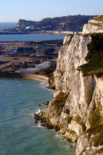 The White Cliffs and Dover by serenityphotography