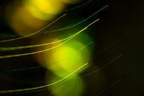 Abstrakte Fotokunst (Green Shapes 2) von Lukas Hasler