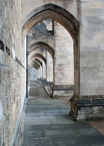 Winchester Cathedral arches von John Biggadike