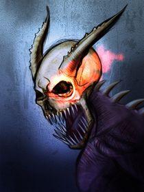 evil skull von Daniele Vicinanzo