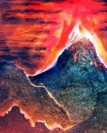 Volcano by Daniele Vicinanzo