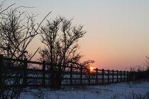 A14 sunset by mark-philpott