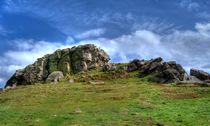Almscliff Crag #1. von Colin Metcalf