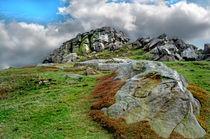 Almscliff Crag #2. von Colin Metcalf