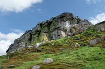 Almscliff Crag #3.  von Colin Metcalf