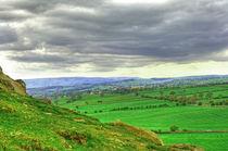 View from Almscliff Crag #3. von Colin Metcalf