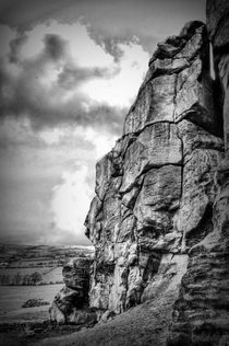 Almscliff Crag Profile #2. von Colin Metcalf