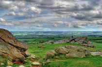 View from Almscliff Crag #4. von Colin Metcalf