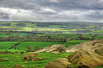 View from Almscliff Crag #9. von Colin Metcalf