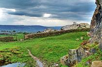 View from Almscliff Crag #7. von Colin Metcalf