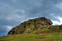 Almscliff Crag #4. von Colin Metcalf