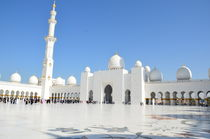 Sheikh Zayed Mosque in Abu Dhabi, UAE von tkdesign