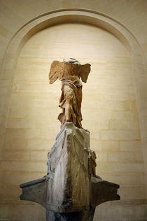 Nike Victory of Samothrace, Louvre, Paris by Tanja Krstevska