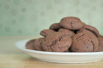 chocolate cookies by Priska  Wettstein