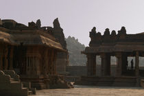 In the Courtyard of Vittala Temple by serenityphotography