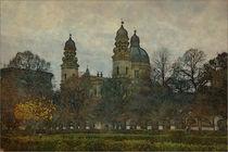 München Theatinerkirche von Marie Luise Strohmenger