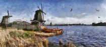 De Zaan digital paint 1 von Wessel Woortman