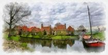 Enkhuizen digital paint 2 von Wessel Woortman
