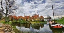 Enkhuizen digital paint 3 von Wessel Woortman