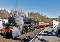 Steam Train at Grosmont by tkphotography