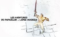 papasclor y la espada by Siete Gatos Locos