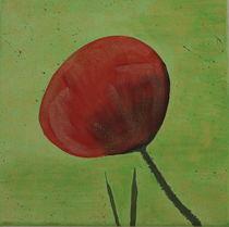 Mohnblume 1 von Lidija Kämpf