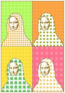 Pop Mona Lisa von Ipso Imago