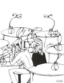 im Cafe von Ella 2000