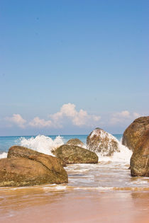 Waves, Beach, Sri Lanka by reorom