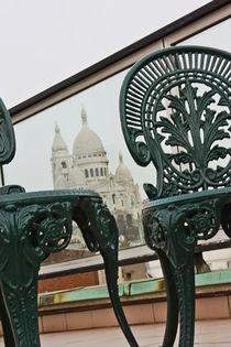Terrasse bei Sacré-Cœur von Stephanie Wüstinger