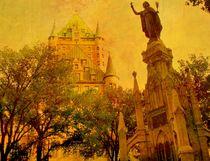 Hotel Frontenac  &  Statue von Rick Todaro