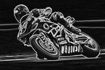 Night-racer-bw