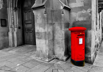 British Red Post Box von Buster Brown Photography