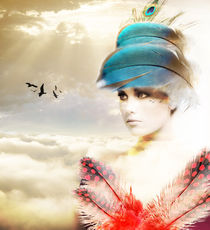 Lady of the Birds von Rozalia Toth