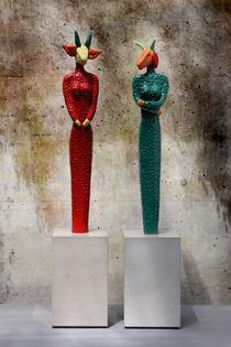 farbige Fabelwesen von Shimmi Schadegg