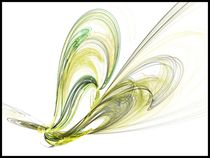Fractal butterfly von sharon lisa clarke