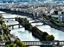 Bridges over the river Seine von Melinda Szente