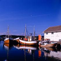 fischereihafen von nevlunghavn; vestfold fylke, norwegen von helmut krauß