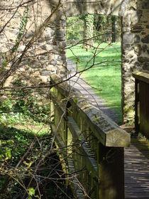 Brücke bei Kloster Arnsburg von Ka Wegner