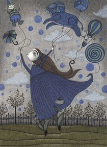 'Violetta Dreaming' by Judith  Clay