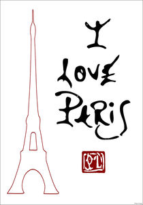 I love Paris von Ipso Imago