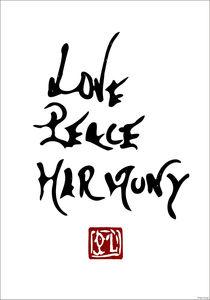 Love, Peace, Harmony