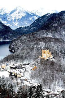 Alps & Castle by Bianca Baker