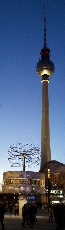 Fernsehturm am Alex von Tobias Hoffmann