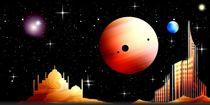 Exoplanetaria Panorama. von Bernd Vagt
